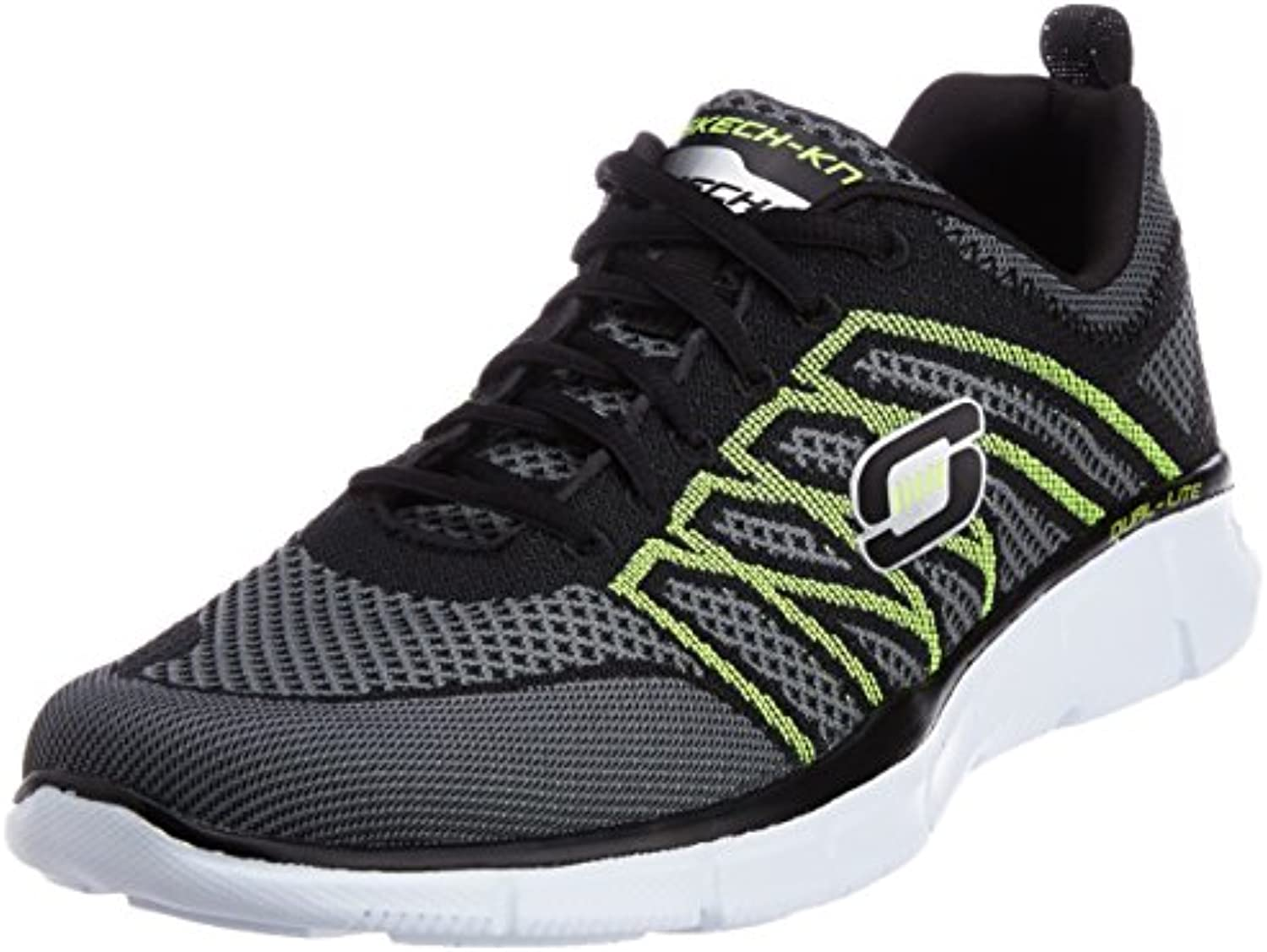 Skechers Equalizer No Limit 51357   Black Lime